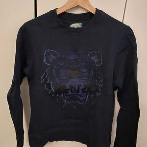 Kenzo blue sweatshirt